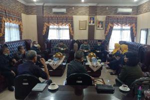 Kunjungan Pimpinan Pengadilan Tinggi Agama Medan Ke Pengadilan Tinggi Sumatera Utara dalam rangka Koordinasi dan Silaturahmi