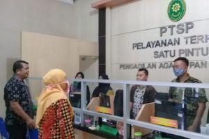 Briefing Pagi Petugas PTSP Pengadilan Agama Panyabungan